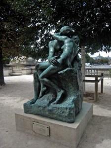 Paris 1-Musée de l'Orangerie-Le Baiser-Rodin.