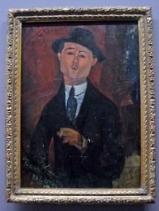 Paris 1-Musée de l'Orangerie-Paul Guillaume-Modigliani.